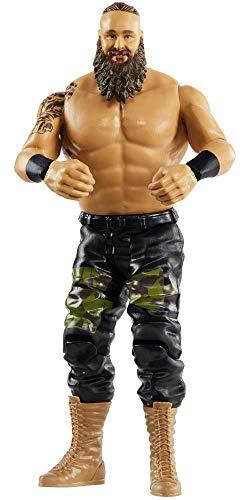 WWE GLB11 Action Figur (15 cm) Braun Strowman, Spielzeug Actionfigur ab 6 Jahren