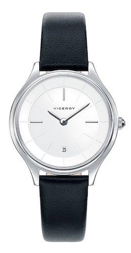 Viceroy Reloj Analógico para Mujer de Cuarzo con Correa en Cuero 471058-07