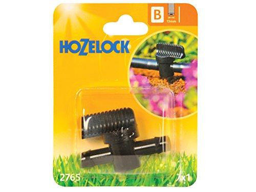 Hozelock 2765P0000 Vanne de Contrôle 13mm, Noir, 15x12x13 cm
