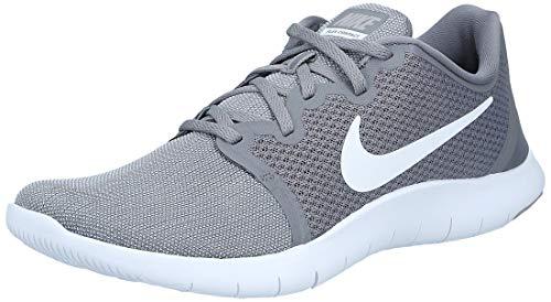 Nike Men's Flex Contact 2 Gunsmk Running Shoes-9 UK (44 EU) (10 US) (AA7398-009)
