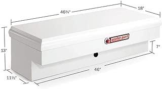 Weather Guard 186301 Super-Lo White Steel Side Box
