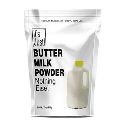 It's Just - Buttermilk Powder, Sweet Cream Butter Milk, Made in USA, 32oz