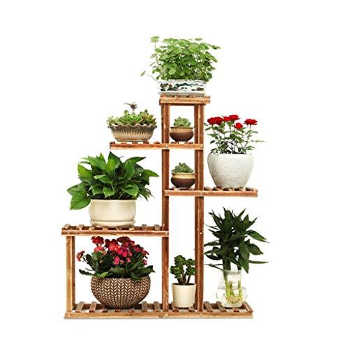 Support de Rangement de Fleurs pour Fleurs Support de présentoir pour étagères de Fleurs Support de présentoir en Bois pour intérieur et extérieur, Taille 76x91x25 cm