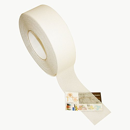 Jvcc Ns-2A Premium Non-Skid Tape: 2 In. X 60 Ft. (Semi-Transparent/Translucent) by J.V. Converting
