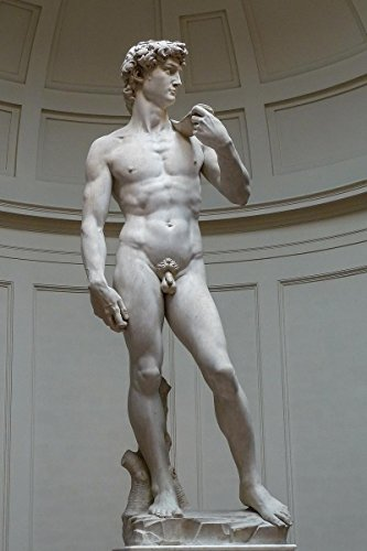 Gifts Delight Laminated 16x25 Poster: Michelangelo Buonarroti - David Michelangelo
