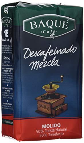 Cafés Baqué Café Molido Descafeinado mezcla - 250 gr