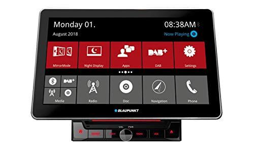 Blaupunkt Rome 990 DAB NAV Truck - 2-DIN Navigation mit Touchscreen/Bluetooth/TMC/USB/DVD