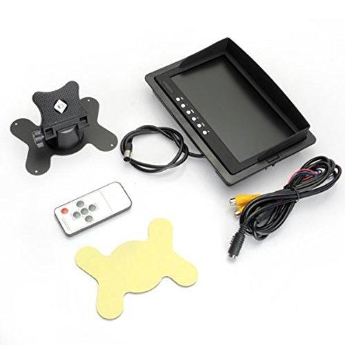 Luwu-Store Écran de protection de voiture avec écran LCD pour caméra de recul, grand écran, portable et stationnement arrière