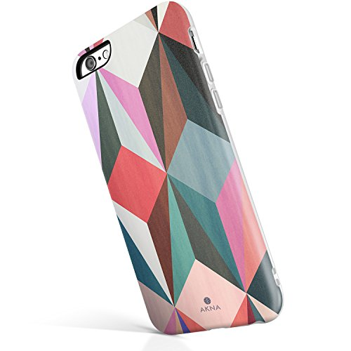 iPhone 6/6s case for Girls, Akna Get-It-Now Collection High Impact Flexible Silicon Case for Both iPhone 6 & iPhone 6s [Colorful Cube](213-U.S)