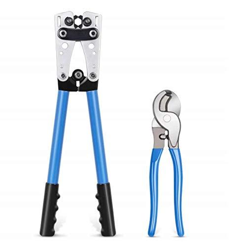 Generic Brands Ensemble de Coupe-câble pour Outil de sertissage en Acier au Chrome Vanadium, HX-50B Ensemble de Coupe-câble pour Outil de sertissage HX-50B
