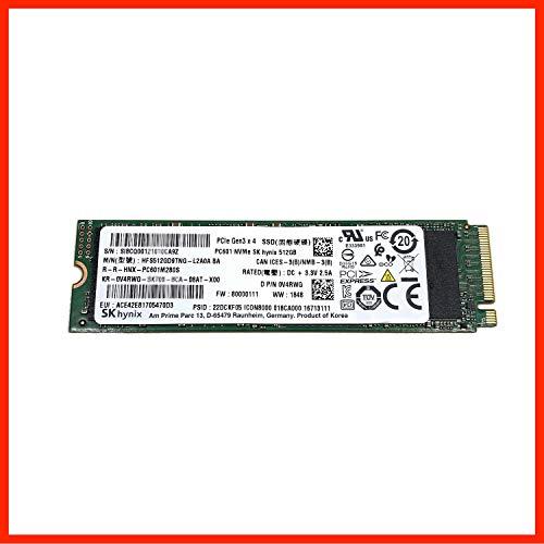 HFS512GD9TNG SK Hynix SSD 512GB PC601 NVMe PCIe 3.0 x4 M2 M.2 2280 (Neuware mit Garantie) kompatibel mit Dell HP Lenovo Asus Acer, D P/N 0V4RWG V4RWG
