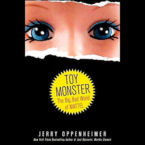 Toy Monster audiobook cover art