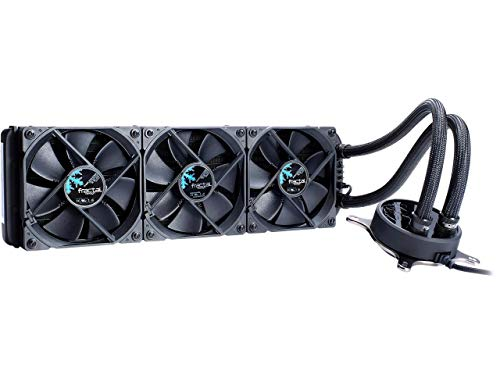 Fractal Design Celsius S36 Blackout 360mm Silent High Performance Slim Expandable All-in-One CPU Liquid/Water Cooler