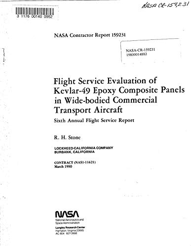 Flight service evaluation of Kevlar-49 epoxy composite panels in wide-bodied commercial transport aircraft (English Edition)