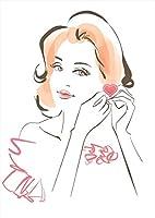igsticker ポスター ウォールステッカー シール式ステッカー 飾り 594×841㎜ A1 写真 フォト 壁 インテリア おしゃれ 剥がせる wall sticker poster 015570 女の人 きれい おしゃれ