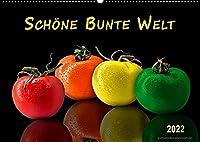 Schoene bunte Welt (Wandkalender 2022 DIN A2 quer): Die Welt ist bunt, schoene Farben gibt es ueberall. (Monatskalender, 14 Seiten )