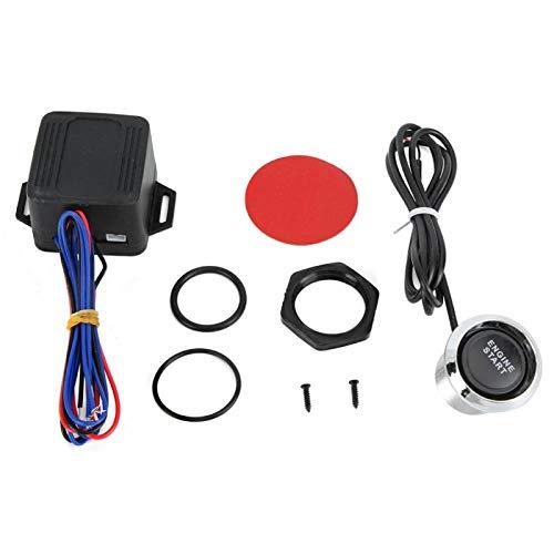 Qqmora Botón de Arranque del Motor Arrancador de Encendido Azul rápido Botón de Arranque Nuevo y Conveniente Botón de Interruptor del Motor Sensibilidad del botón de Encendido del Motor para el