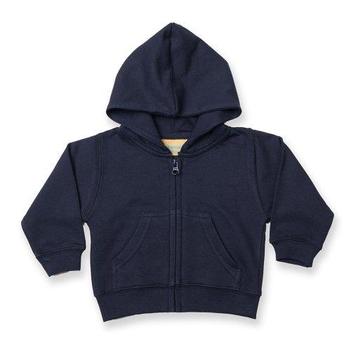 Larkwood Larkwood Baby/Kinder Sweatshirt Jacke (6-12 Monate) (Marineblau)