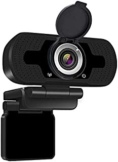 Anivia 1080p HD Webcam W8, USB Desktop Laptop Camera, Mini Plug and Play Video Calling Computer Camera, Built-in Mic, Flex...