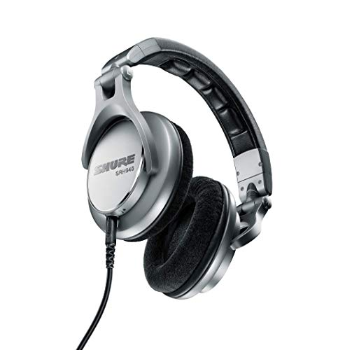Shure SRH940 Professional Reference Headphones designed for Critical Listening, Studio Monitoring & Mastering