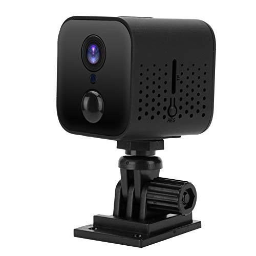Germerse Monitor de Seguridad para el hogar Detección de Movimiento Rotación de 360 Grados Visualización Nocturna Monitor de bebé Alarma automática WiFi para Tienda Hogar Patio Trasero Oficina