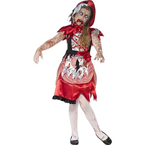 Smiffys Halloween Kinder Kostüm Zombie Rotkäppchen Gr.10 bis 12 Jahre