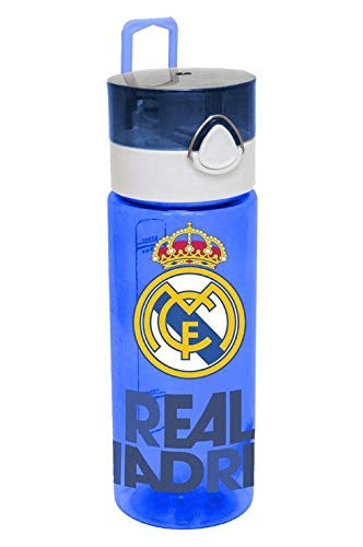 Real Madrid Botella cantimplora tritán Home Unisex Adulto, Compuesto