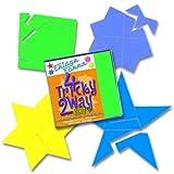 4 Tricky 2 Way Star - Puzzle de teselación magnética