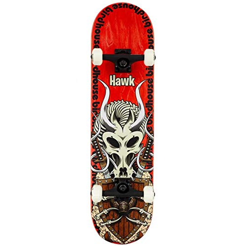 Birdhouse Skate Completo Hawk Gladiator Stage 3 Black 8.125