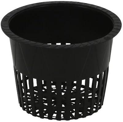 "25 10 5 30 pcs: 3.75/"" inch NET CUP Mesh Pot Hydroponics Hydrofarm 20 15"