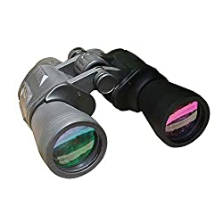 Binoculars for Adults Kids, 12X50 Compact High Power Waterproof Zoom Binoculars for Bird Watching Travel Concert Hunting - BAK4 Prism FMC Lens with Case and Strap from Ronasunx