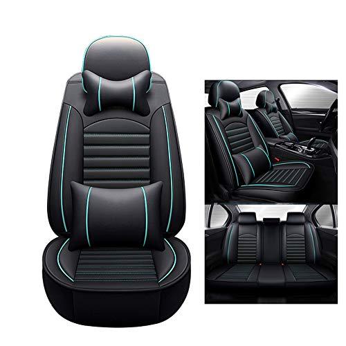 HRFHLHY Wasserdicht und Anti-schmutziges Sitzschutz Auto-Sitzabdeckung Kompatibel mit Audi,Blau,A7