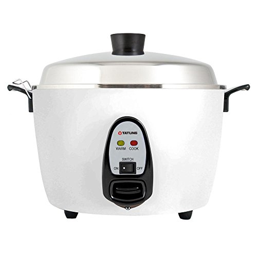 Tatung - TAC-6G (SF) - 6 Cup Multi-Functional Rice Cooker - White