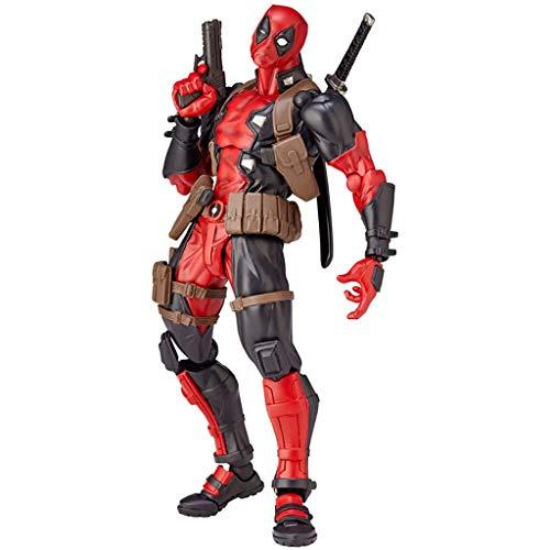 ZQBY7AA Figura de acción de Milagro Vengadores Deadpool Figura de acción de Cerca de 18cm