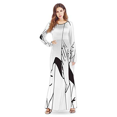 C COABALLA face Palm Troll Guy Meme for Any Design,New Fall Winter Party Women Dresses M