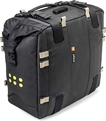 Kriega Motorrad Satteltaschen für Motorrad Taschen Satteltasche Adventure Pack OS-32 wasserdicht 32 Liter, Unisex, Tourer, Ganzjährig, Polyamid, schwarz