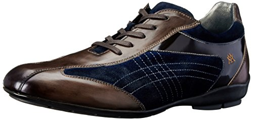 Mezlan Men's Vega, Brown/Navy, 10 M US