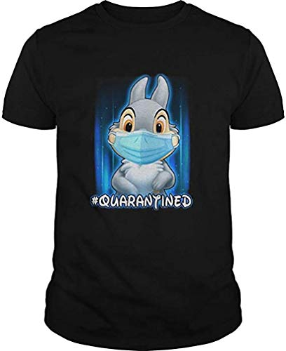 Thumper Face Mask Quarantined T-Shirt, Tank Top, Hoodie, Long Sleeve, Sweatshirt, V Neck for Men Women
