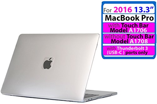 iPearl mCover Hard Shell Case for 13-inch Model A1425 / A1502 MacBook Pro (with 13.3-inch Retina Display) - Frosted Clear