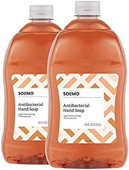 2-Pack Amazon Brand Solimo Antibacterial Liquid Hand Soap