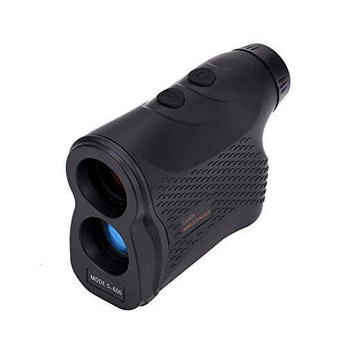 Entfernungsmesser Golf, 600M Laser Entfernungsmesser 6 x, Wasserdichte IP54 Monokular Teleskop Entfernungsmesser, Rangefinder Outdoor Distanzmesser, für Ranging, Flagpole Lock, Jagd