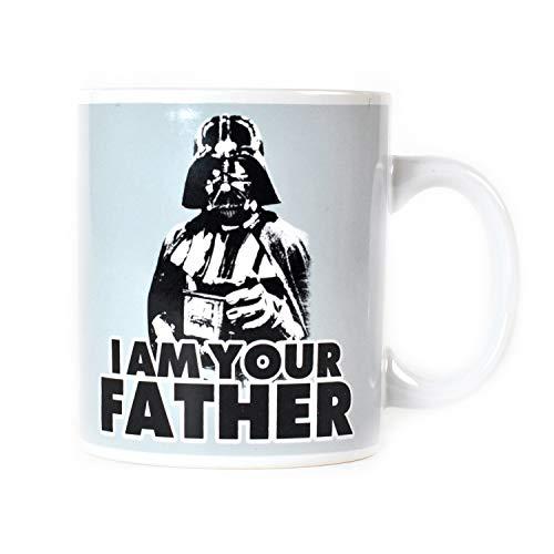 Star Wars Kaffeetasse, Keramik, weiß, 8 cm