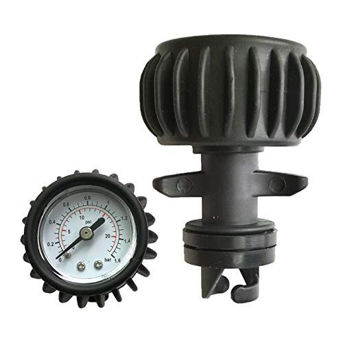 ZRNG Medidor de presión de Aire para Balneario de Bote Inflable Monitores de Kayak Monitores Kayak Meter DE 0-8 PSI