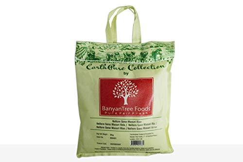 BanyanTree Foods Nellore Sona Masoori Rice ( Easy Cook Rice) 2kg