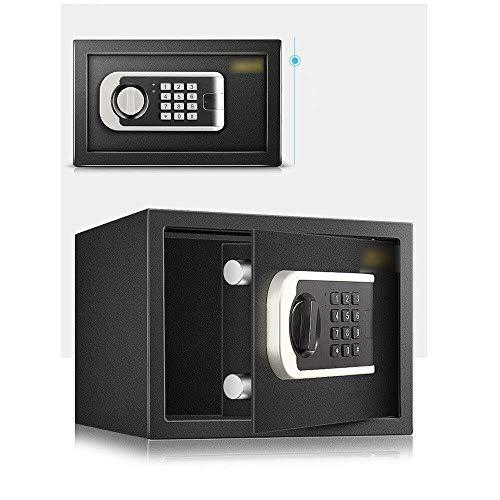 Insurance kabinet Kluis, All Steel Electronics Digital Password Kluisje met alarmfunctie Binnenlandse Zaken Banking Hotel opslag Cash Jewelry waardevolle voorwerpen Black Gold Kluis