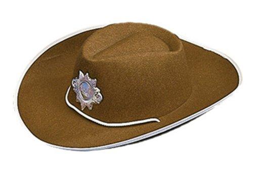 Cesar - K090-001 - Chapeau - Sheriff - Marron