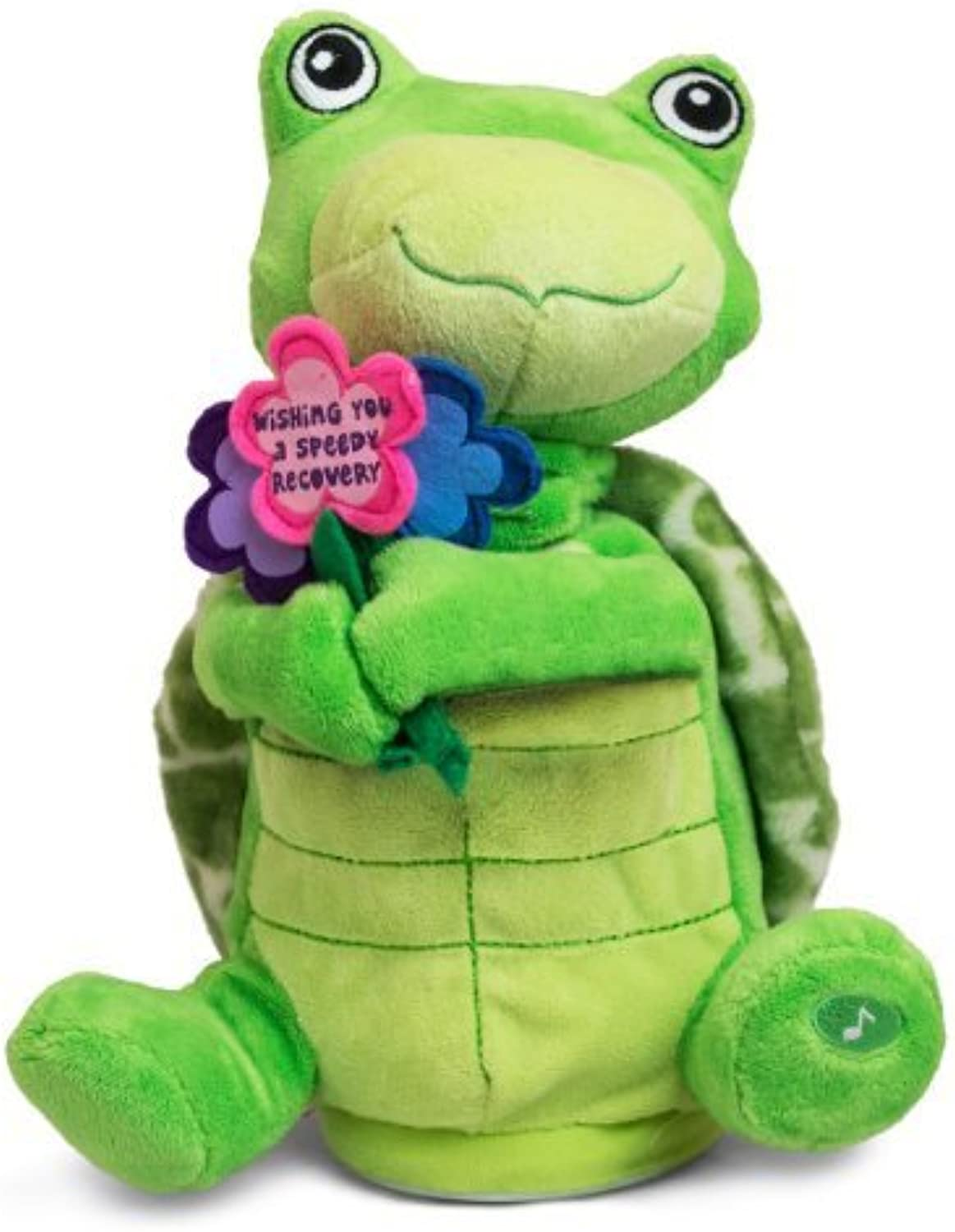 The Petting Zoo Animated Stuffed Turtle,  Wishing You a Speedy Recovery  by The Petting Zoo