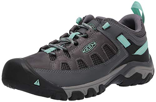 KEEN Women's Targhee Vent Hiking Shoe, Black, 8.5
