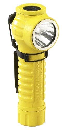 Streamlight 88831 PolyTac 90 LED linterna de polímero de ángulo recto, amarillo - 170 lúmenes