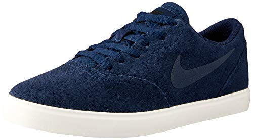 Nike SB Check Suede (GS), Zapatillas para Hombre, Multicolor (Midnight Navy/Midnight Navy/Black 001), 40 EU